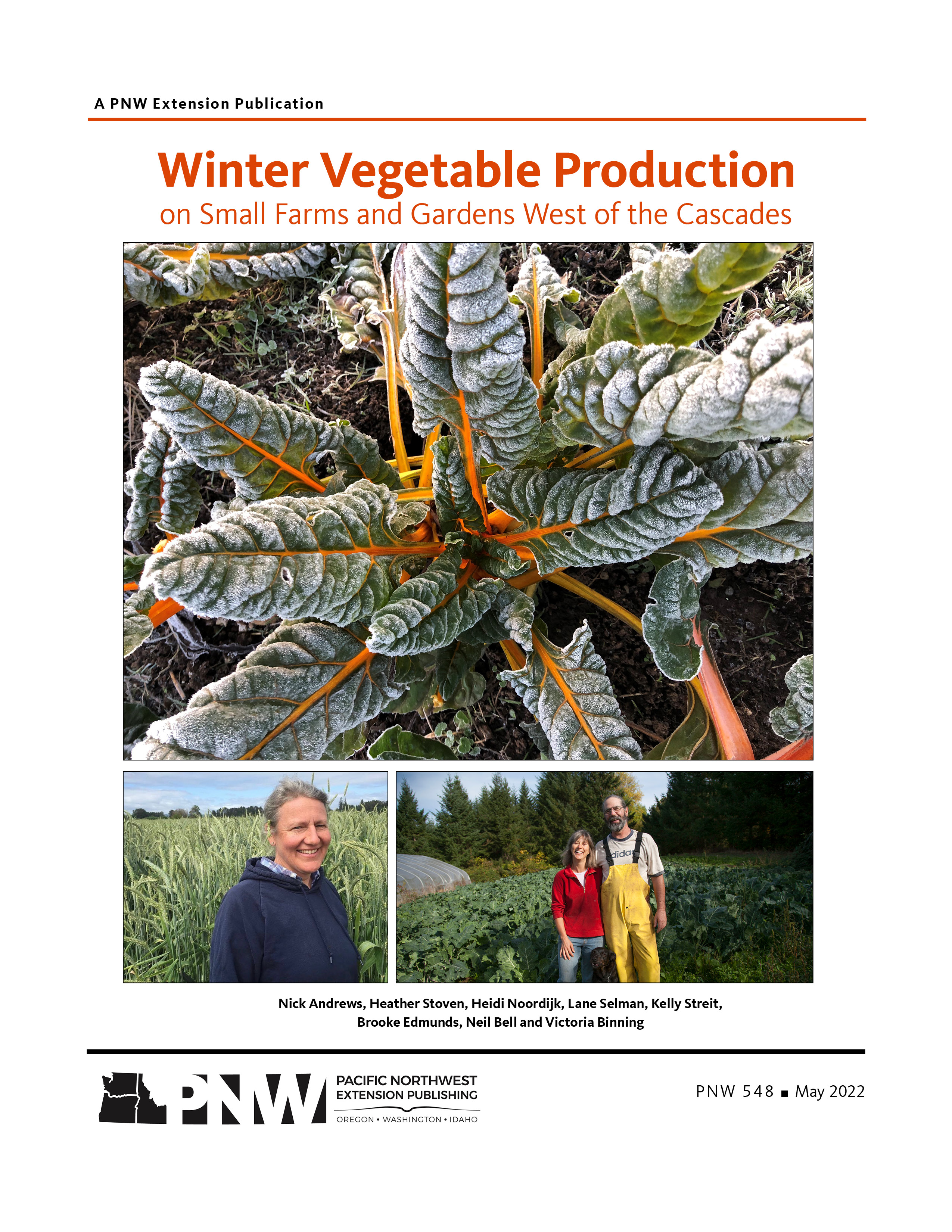 Fall and winter vegetable gardening in the pacific northwest osu extension catalog oregon - Gardening in fall ...