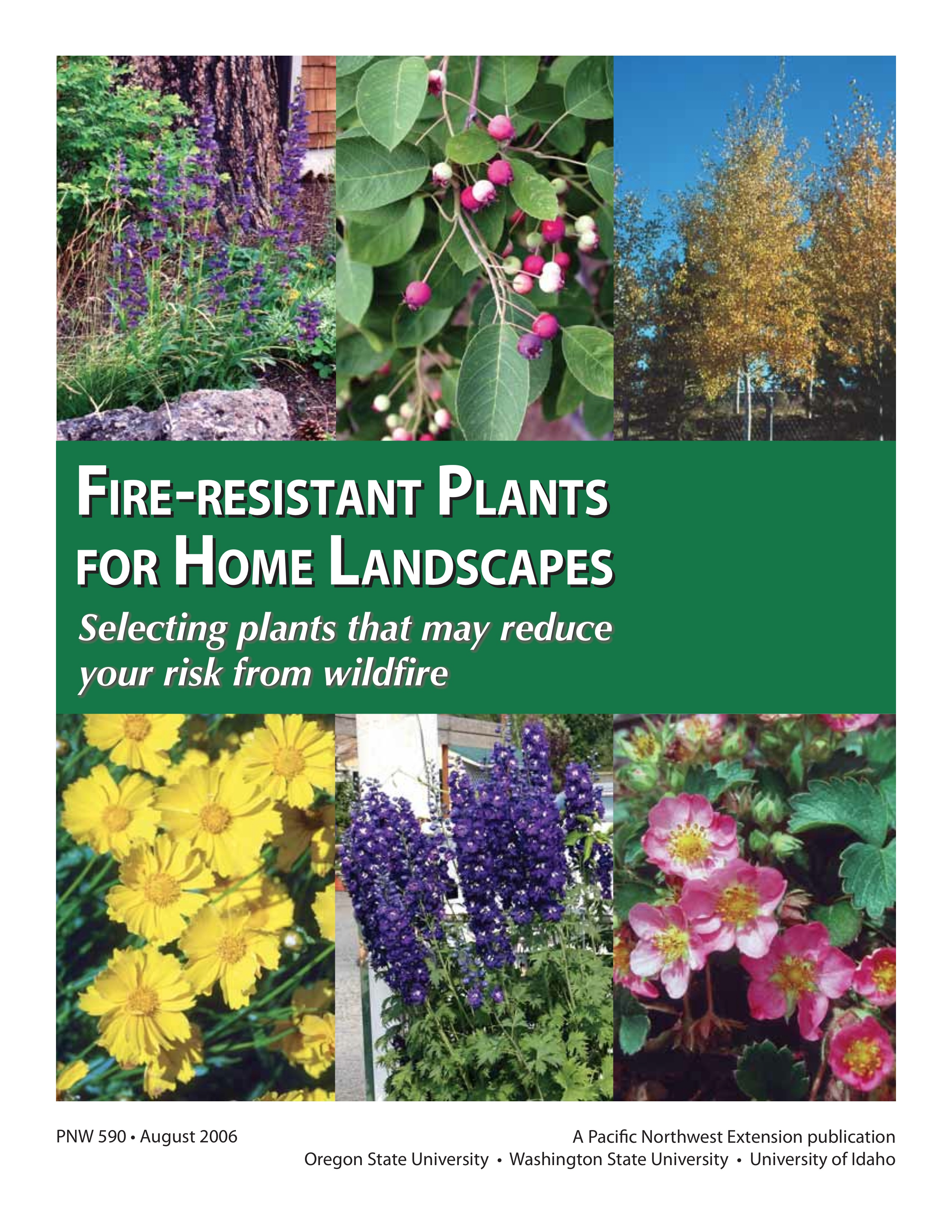 Fire-Resistant Plants for Home Landscapes | OSU Extension ... - photo #42