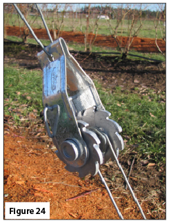 Example of a wire tightener.