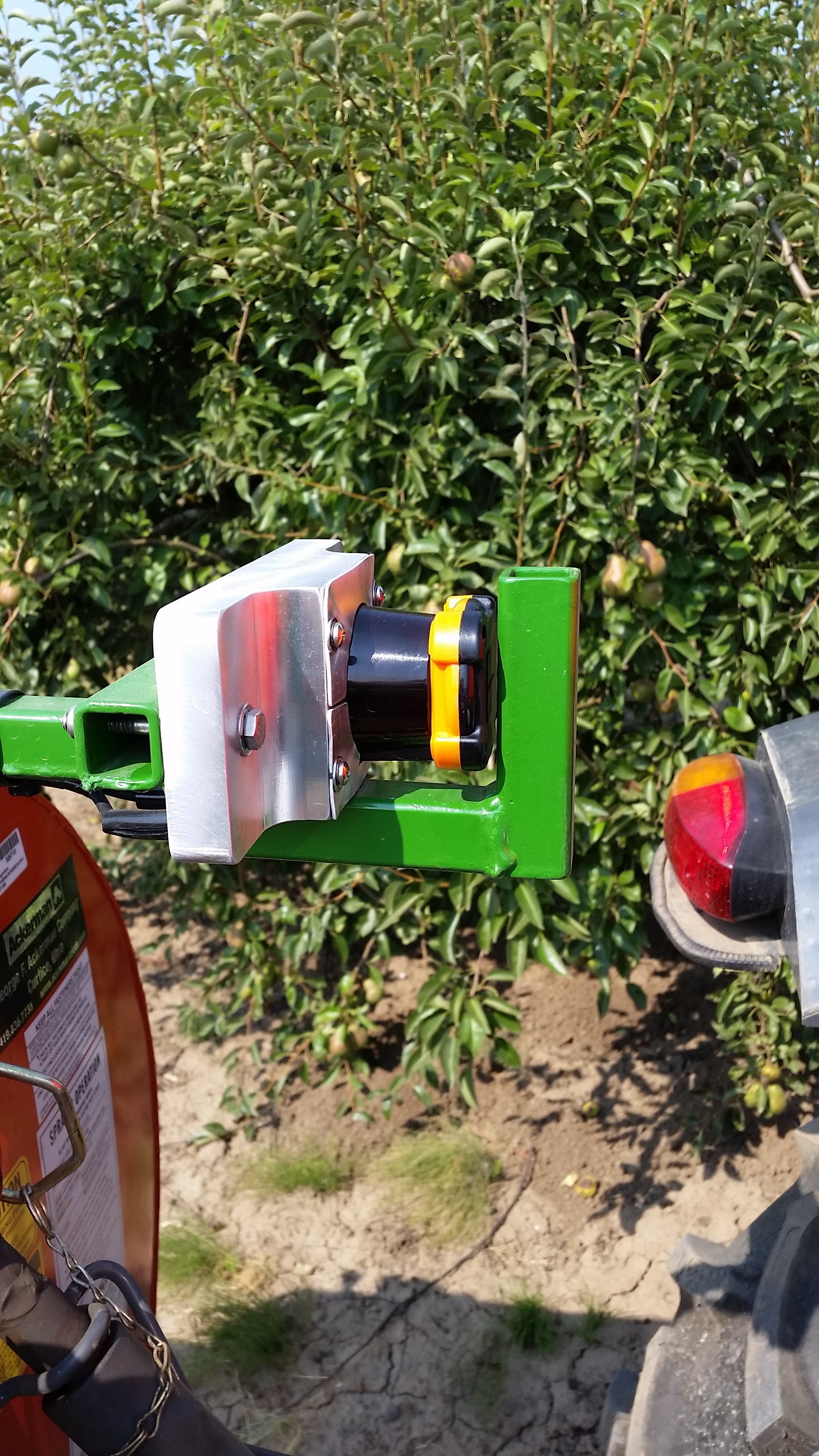 Sensor Sprayers for Specialty Crop Production | OSU