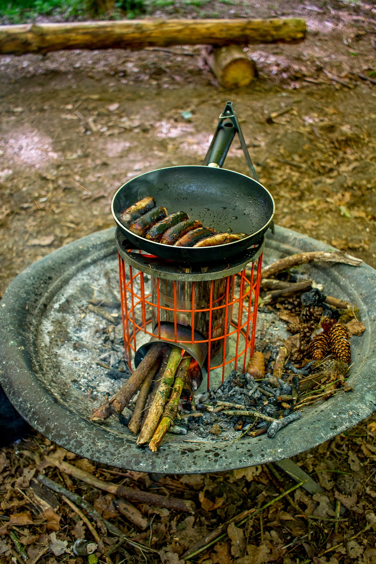 Most camp stoves are for outside use only.