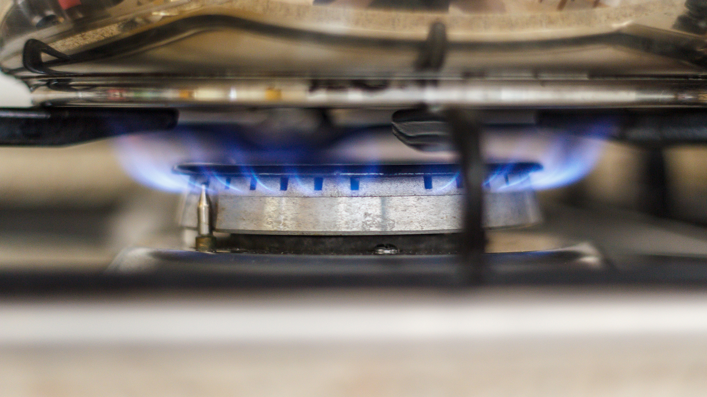 In a power outage, you may still be able to use your gas range. Check your owners manual first, however, to ensure it's safe.