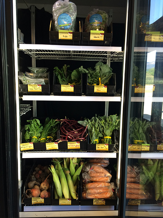 What do you need to be able to keep your produce fresh and attractive?