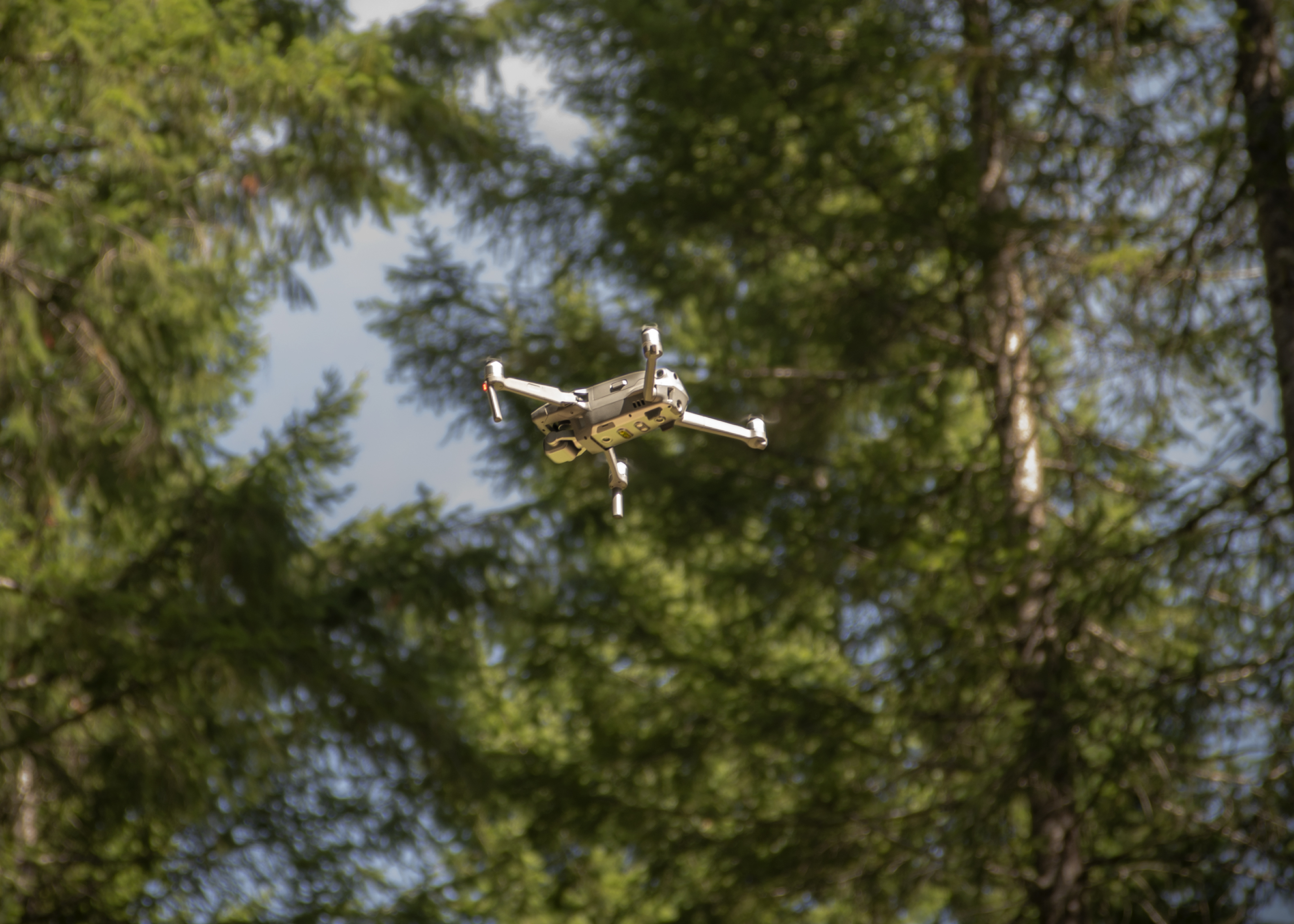 Photo: Jordan Benner, © Oregon Forest Resources Institute Figure 13.  An unmanned aerial vehicle used to assess forest health.