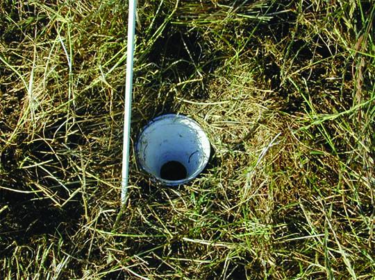 It looks like a golf course hole