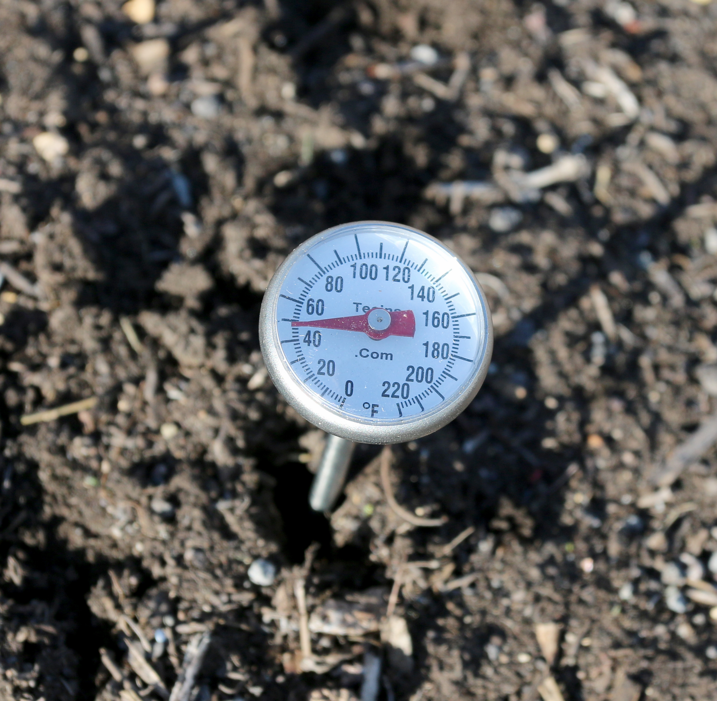 Soil thermometer.