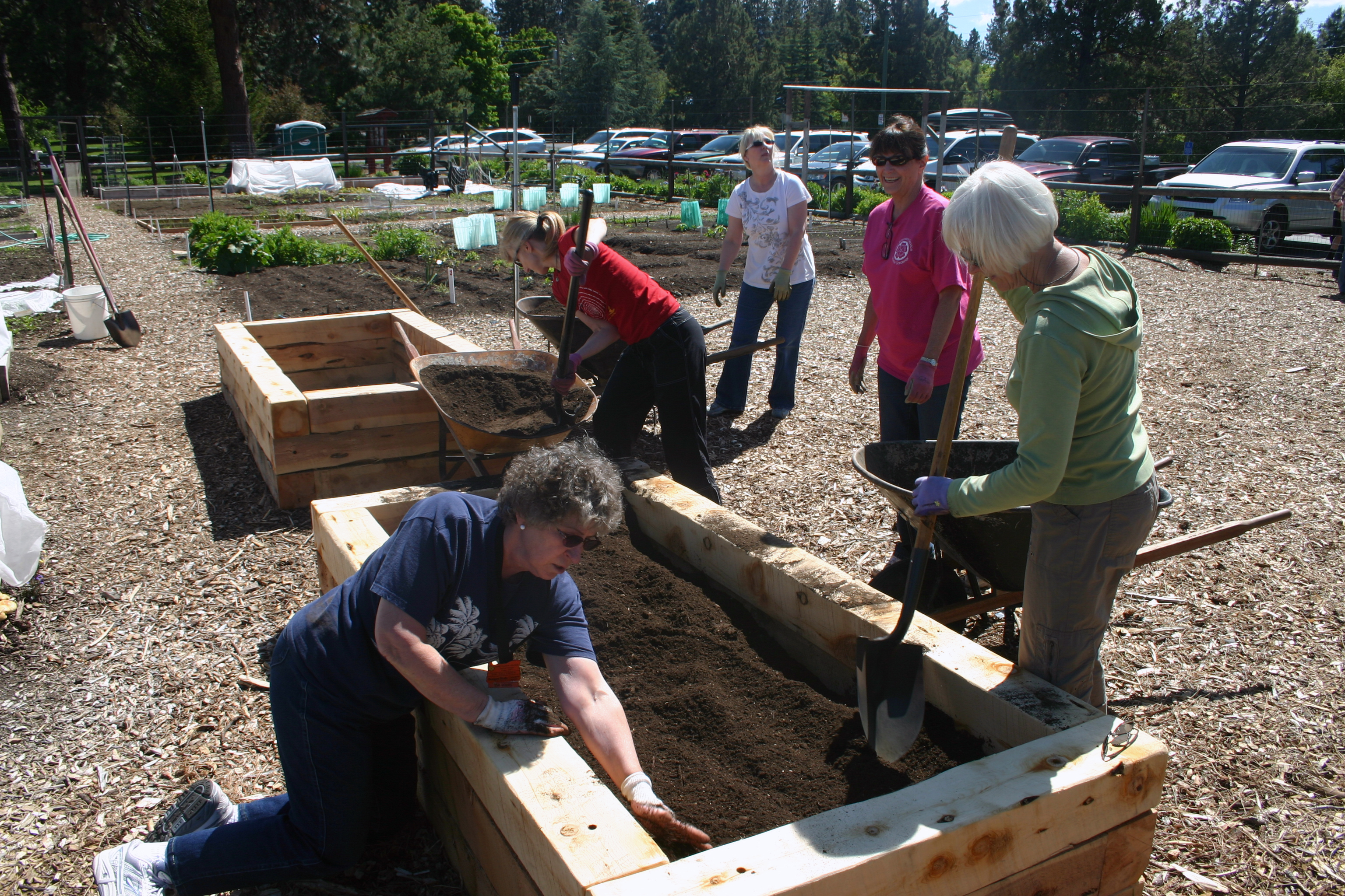 Raised beds are a great option for Central Oregon.