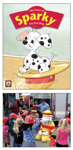 Figure 13. Sparky has been the mascot for the National Fire Protection Association since 1951.