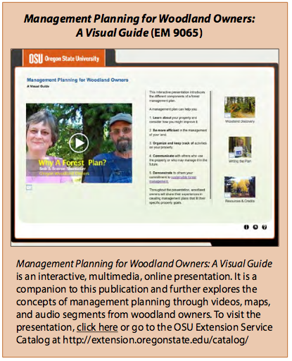 Management Planning for Woodland Owners: A Visual Guide (EM 9065)