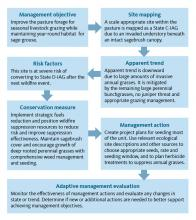 Figure 13. Example of management flow chart demonstrating the steps outlined in this guide.