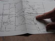 Photo: Norma Kline, © Oregon State University Figure 7. A surveyor's plat map, Coos County, Oregon.