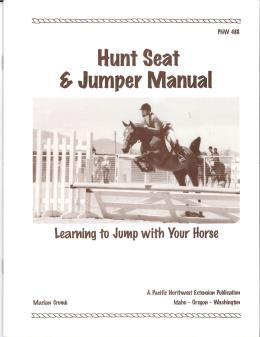 Image of Hunt Seat and Jumper Manual: Learning to Jump with Your Horse publication