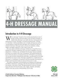Image of 4-H Dressage Manual publication