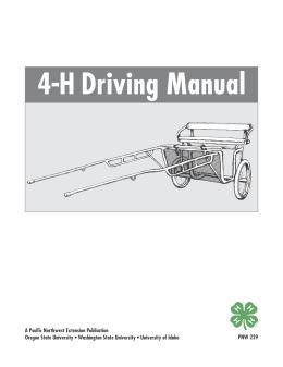Image of 4-H Driving Manual publication