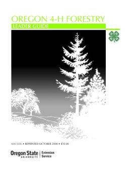 Image of Oregon 4-H Forestry Leader Guide  publication