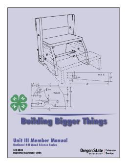 Image of Building Bigger Things: Unit 3 Member Manual publication