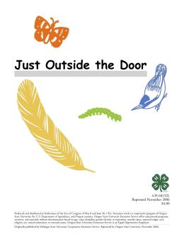 Image of Just Outside the Door Activity Sheets publication