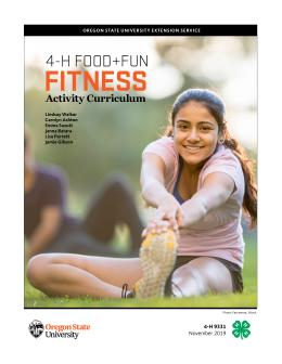 cover of 4-H Food and Fun Fitness