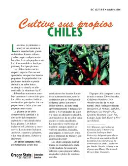 Image of Cultive sus Propios Chiles publication