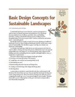 Image of Basic Design Concepts for Sustainable Landscapes publication