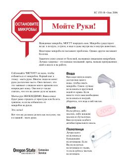Image of Stop Germs: Wash Your Hands (Russian translation) publication