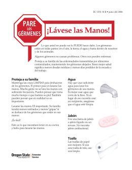 Image of Pare los Gérmenes: Lávese las Manos! publication