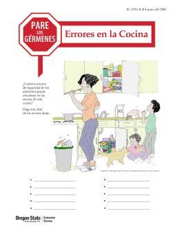 Image of Pare los Gérmenes: Errores en la Cocina publication