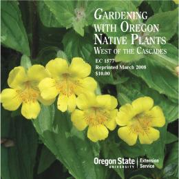 Image of Gardening with Oregon Native Plants West of the Cascades  publication