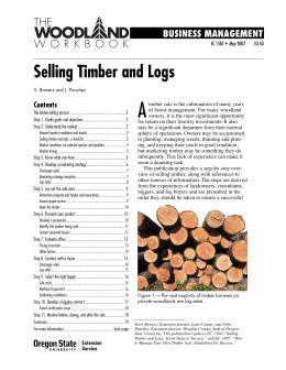 Image of Selling Timber and Logs publication
