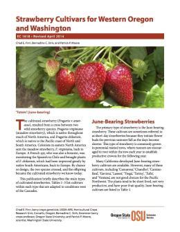 Image of Strawberry Cultivars for Western Oregon and Washington publication