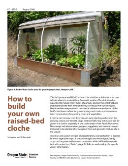 Image of How to Build Your Own Raised-Bed Cloche publication
