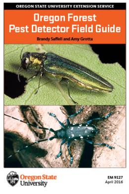 "Cover image of ""Oregon Forest Pest Detector Field Guide"""