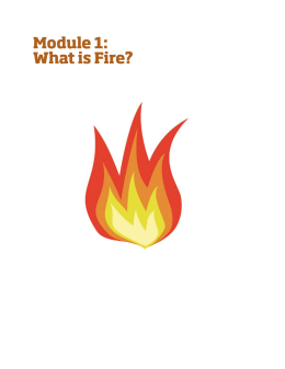 Cover image of Fire Science core curriculum-Module 1