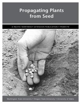 Image of Propagating Plants from Seed publication