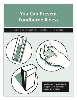 Image of You Can Prevent Foodborne Illness publication
