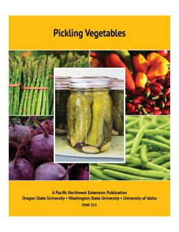 "cover image of ""Pickling Vegetables"""