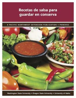 Image of Recetas para el Envasado de Salsas publication