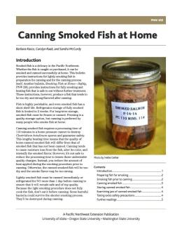 Image of Canning Smoked Fish at Home publication