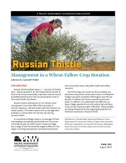 Publication cover for Russian Thistle publication