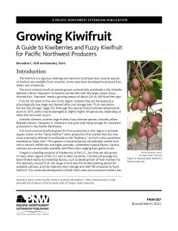 Image of Growing Kiwifruit  publication