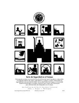 Image of Hoja Informacional Sobre la Seguridad en las Fincas publication