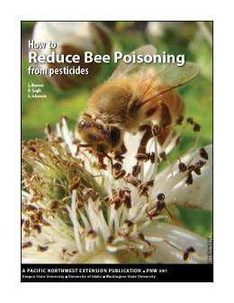 Image of How to Reduce Bee Poisoning from Pesticides publication