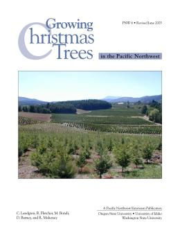 Image of Growing Christmas Trees in the Pacific Northwest publication