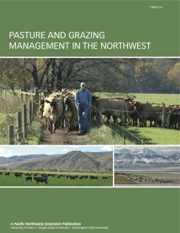 Image of Pasture and Grazing Management in the Northwest publication