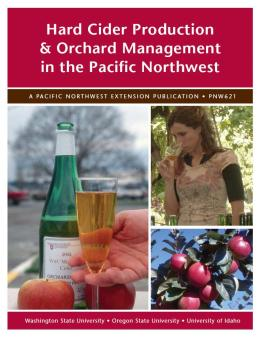 Image of Hard Cider Production and Orchard Management in the Pacific Northwest publication