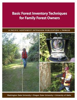 Image of Basic Forest Inventory Techniques for Family Forest Owners publication