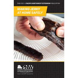 """Cover image of """"Making Jerky at Home Safely"""" publication"""