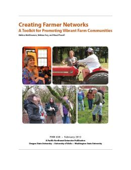 Image of Creating Farmer Networks: A Toolkit for Promoting Vibrant Farm Communities publication
