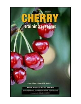 Cover of Cherry Training Systems, PNW 667