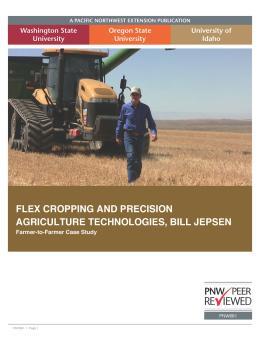 "Cover image of ""Flex Cropping: Bill Jepsen (Farmer to Farmer Case Study Series)"""
